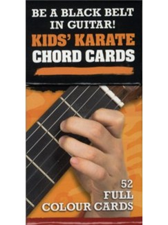 50 Guitar Flash Cards: Kids' Karate Chord Cards  | Guitar