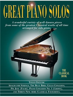 Great Piano Solos - The Classical Book Books | Piano