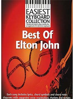 Easiest Keyboard Collection: Best Of Elton John Books | Keyboard