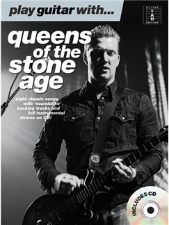 Play Guitar With... Queens Of the Stone Age (Book and CD) Books and CDs | Guitar Tab