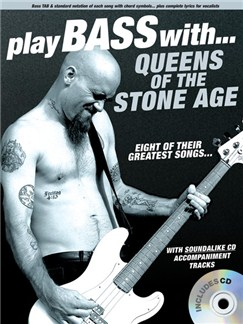 Play Bass With... Queens Of The Stone Age CD et Livre | Tablature Basse