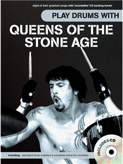 Play Drums With... Queens of the Stone Age CD et Livre | Batterie