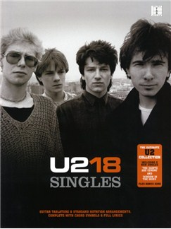 U2: 18 Singles Livre | Tablature Guitare