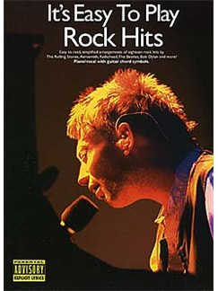 It's Easy To Play Rock Hits Livre | Piano, Chant et Guitare (Symboles d'Accords)