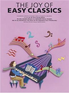 The Joy Of Easy Classics Books | Piano