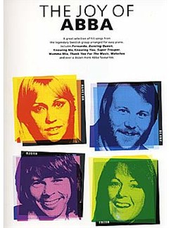 The Joy Of Abba Books | Piano, Vocal & Guitar (with Chord Symbols)