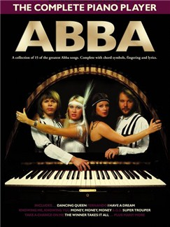 The Complete Piano Player: Abba Livre | Piano, Chant et Guitare