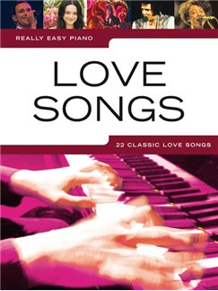 Really Easy Piano: Love Songs Books | Piano, Easy Piano
