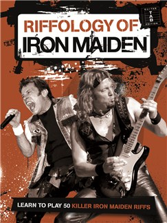 Riffology Of Iron Maiden Books | Guitar Tab