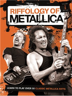 Riffology Of Metallica Books | Guitar Tab