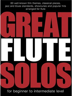 Great Flute Solos Books | Flute