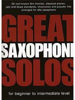 Great Saxophone Solos Books | Alto Saxophone