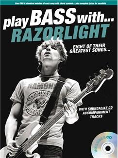 Play Bass With... Razorlight Books and CDs | Bass Guitar