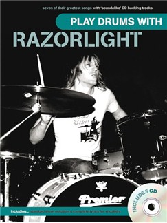 Play Drums With... Razorlight Books and CDs | Drums