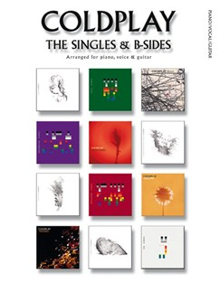 Coldplay: The Singles & B-Sides (PVG) Books | Piano, Vocal & Guitar