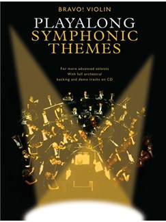 Bravo!: Playalong Symphonic Themes (Violin) Books and CDs | Violin