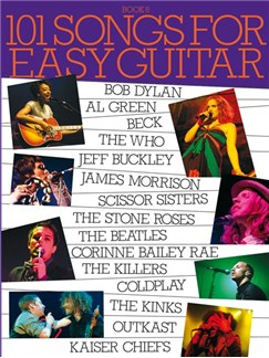 101 Songs For Easy Guitar - Book 6 Books | Melody Line, Lyrics & Chords