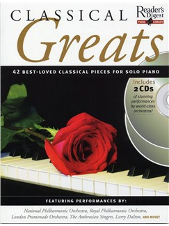 Reader's Digest Piano Library: Classical Greats Books and CDs | Piano