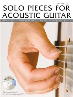 Solo Pieces For Acoustic Guitar CD et Livre | Guitare