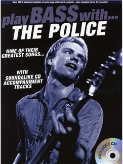 Play Bass With... The Police Books and CDs | Bass Guitar Tab