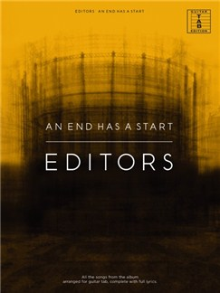 Editors: An End Has A Start Books | Guitar Tab