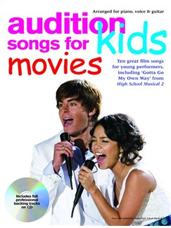 Audition Songs For Kids - Movies Books and CDs | Piano, Vocal & Guitar