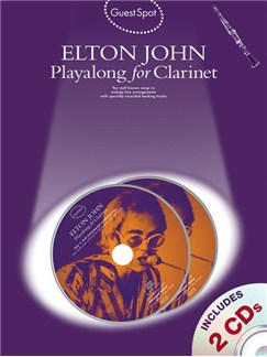 Guest Spot: Elton John Playalong For Clarinet Books and CDs | Clarinet