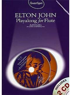 Guest Spot: Elton John Playalong For Flute Bog og CD | Fløjte