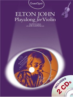 Guest Spot: Elton John Playalong For Violin Books and CDs | Violin