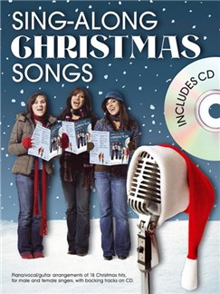 Sing-Along Christmas Songs (Book And CD) Books and CDs | Piano, Vocal & Guitar