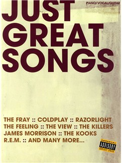 Just Great Songs Livre | Piano, Chant et Guitare