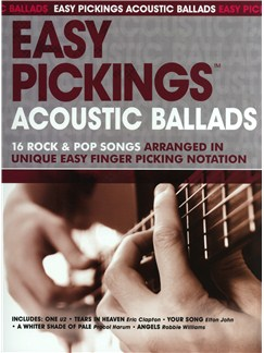 Easy Pickings: Acoustic Ballads Books | Acoustic Guitar