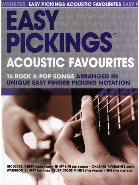 Easy Pickings: Acoustic Favourites - Guitar Sheet Music - Sheet ...