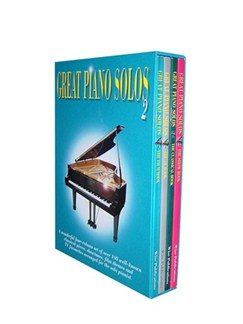 Great Piano Solos - Four Volume Set 2 Libro | Piano