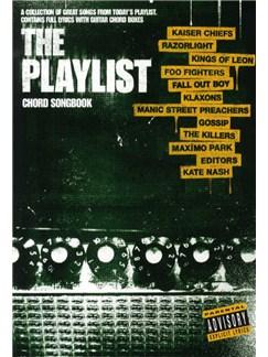 The Playlist - Chord Songbook 4 Books | Lyrics & Chords