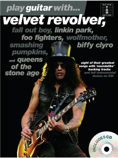 Play Guitar With... Velvet Revolver, Fall Out Boy, Linkin Park etc (Book And CD) Books and CDs | Guitar Tab