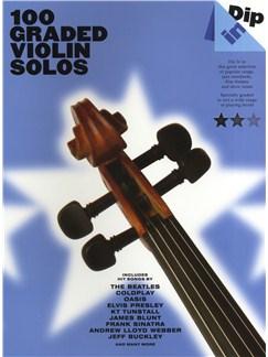 Dip In - 100 Graded Violin Solos Books | Violin