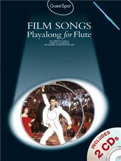 Guest Spot: Film Songs Playalong For Flute (Book And 2 CDs) Books and CDs | Flute