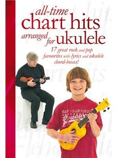All-Time Chart Hits Arranged For Ukulele Books | Ukulele (with Chord Boxes)