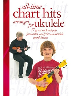 All-Time Chart Hits Arranged For Ukulele Livre | Ukelele (Boîtes d'Accord)