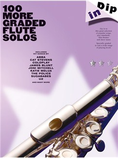 Dip In: 100 More Graded Flute Solos Books | Flute