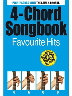 4 Chord Songbook: Favourite Hits Books | Guitar