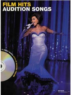 Audition Songs - Film Hits CD et Livre | Piano, Chant et Guitare