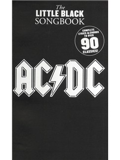 The Little Black Songbook: AC/DC Books | Lyrics & Chords
