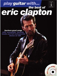 Play Guitar With... The Best Of Eric Clapton Books and CDs | Guitar Tab