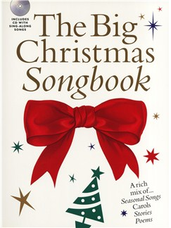 The Big Christmas Songbook Books and CDs | Voice, Piano