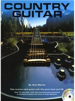 Alan Warner: Country Guitar (Book And CD) Books and CDs | Guitar, Guitar Tab