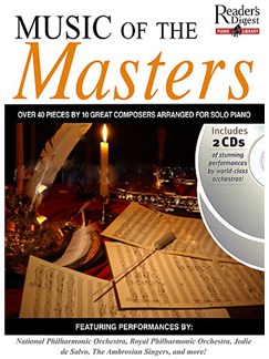 Reader's Digest Piano Library: Music Of The Masters Books and CDs | Piano