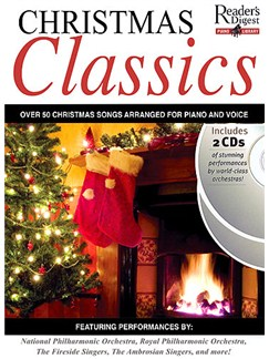 Reader's Digest Piano Library: Christmas Classics CD y Libro | Piano, Voz