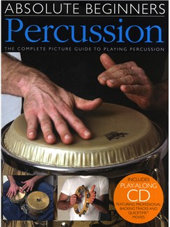Absolute Beginners - Percussion Books and CDs | Percussion